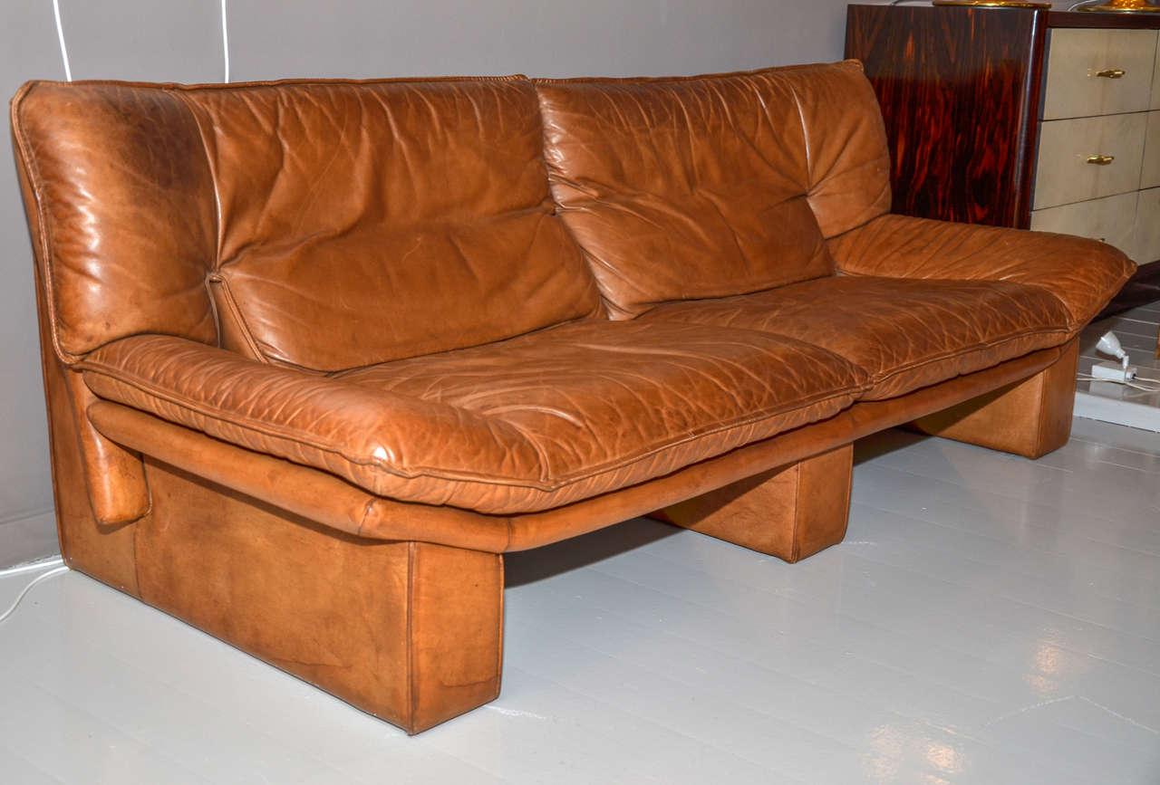 two 1960s italian sofas by edited by nicoletti salotti at