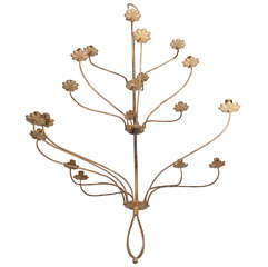 French Iron Candelabra