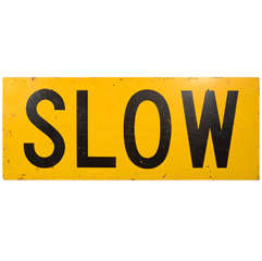 USA Slow Sign