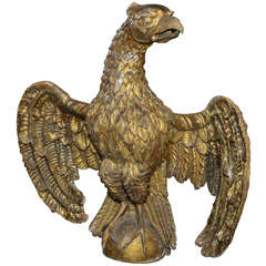 18th Century Carved Eagle