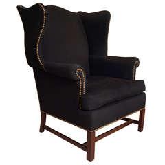 George III-Style Wingback Chair