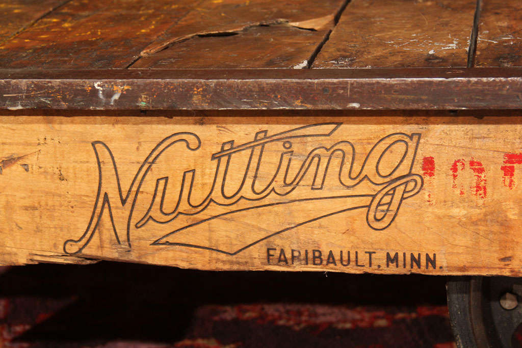 Nutting Factory Cart image 4