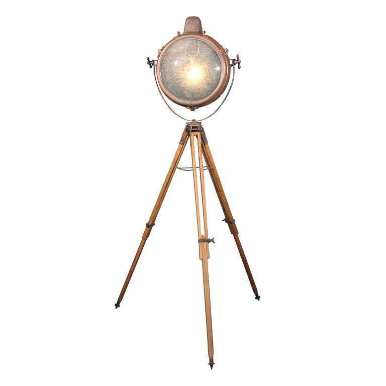 Copper GE Tripod Light