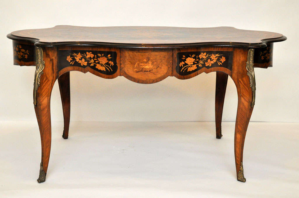 Italian Marquetry Music Table / Desk 2