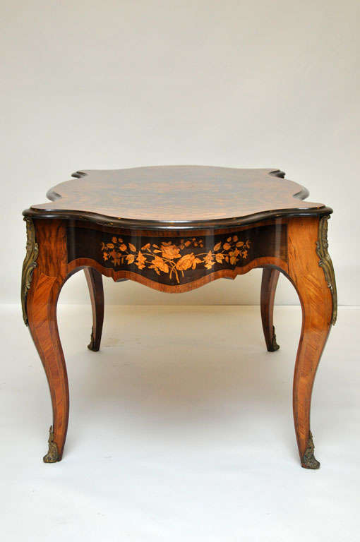 Italian Marquetry Music Table / Desk 5