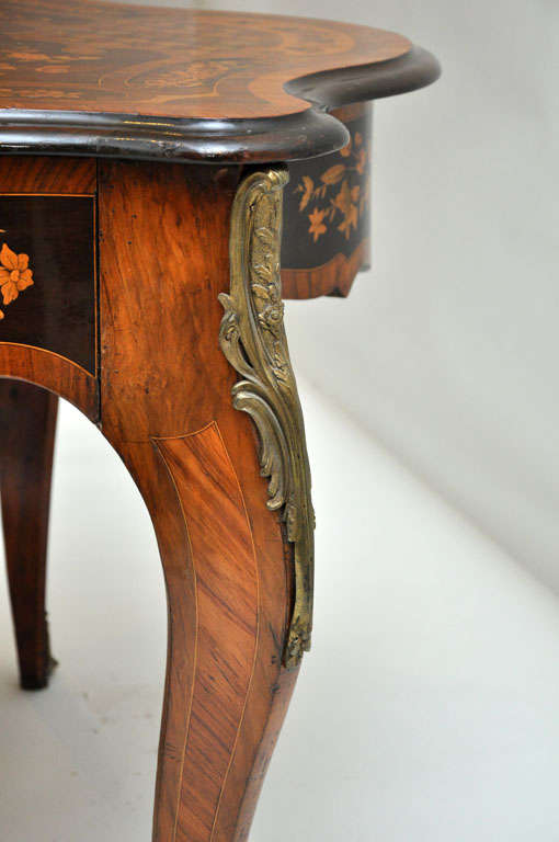 Italian Marquetry Music Table / Desk 9
