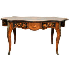 Italian Marquetry Music Table / Desk