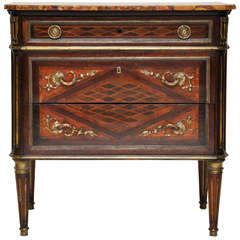 French Louis XVI Style Chest of Drawers