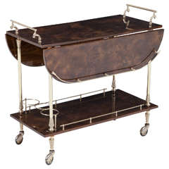 Aldo Tura Bar Cart