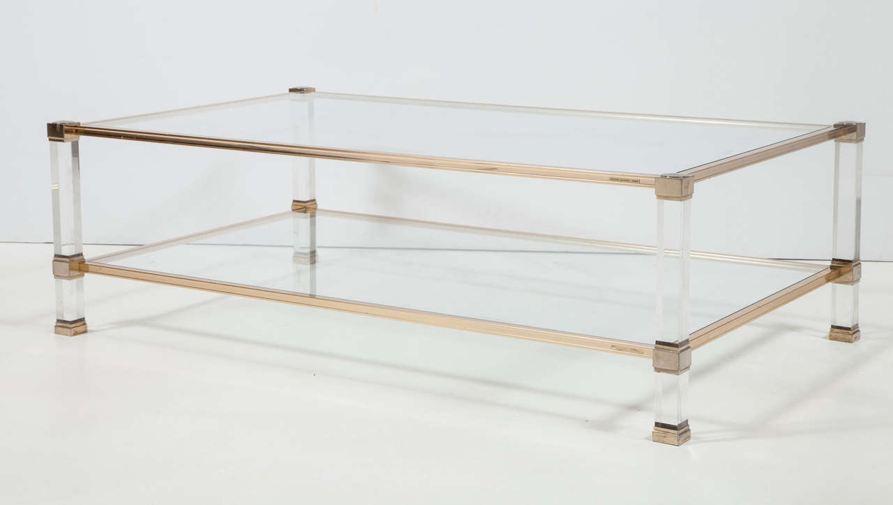 Pierre Vandel Paris Coffee Table At 1stdibs