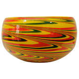 Large Vintage Murano Style Bowl.