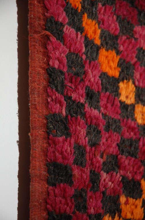 Vintage Moroccan Large Pile Tribal Rug For Sale 3