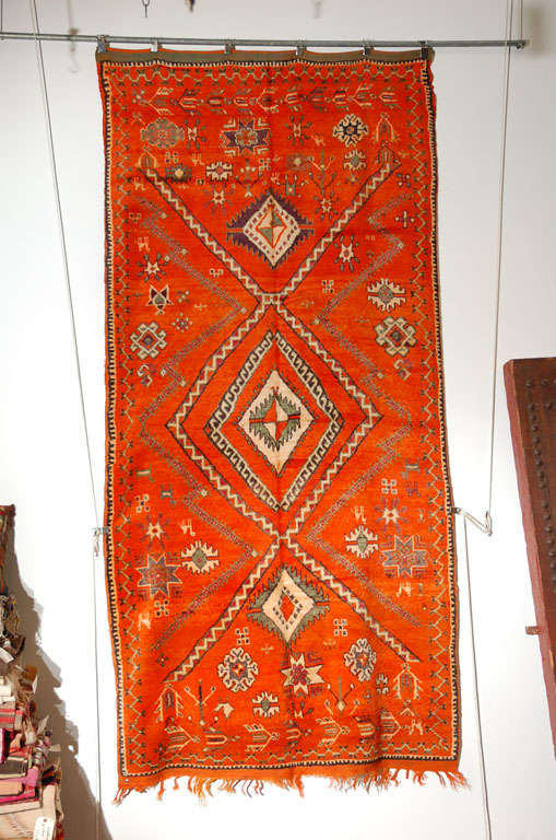 Moroccan Vintage Tribal Rug For Sale At 1stdibs