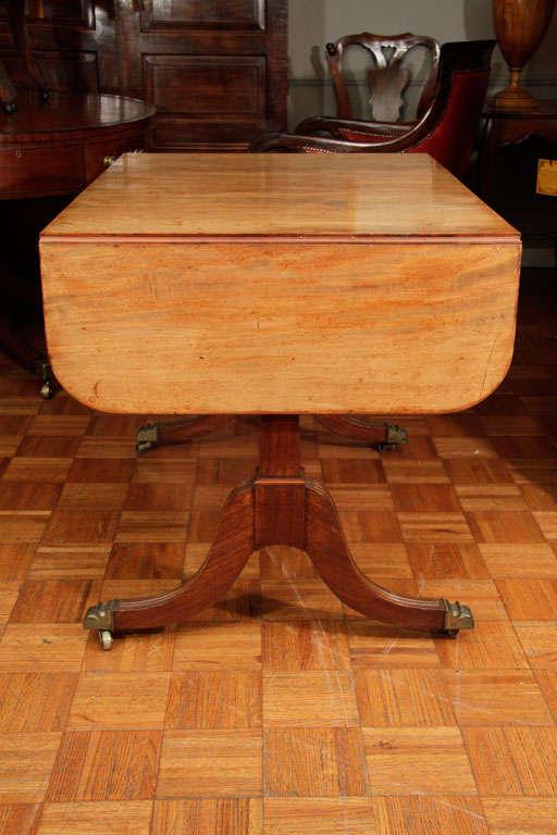 Regency Cork Sofa Table For Sale 1