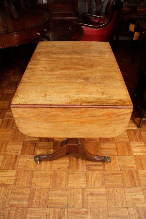 Regency Cork Sofa Table For Sale 2