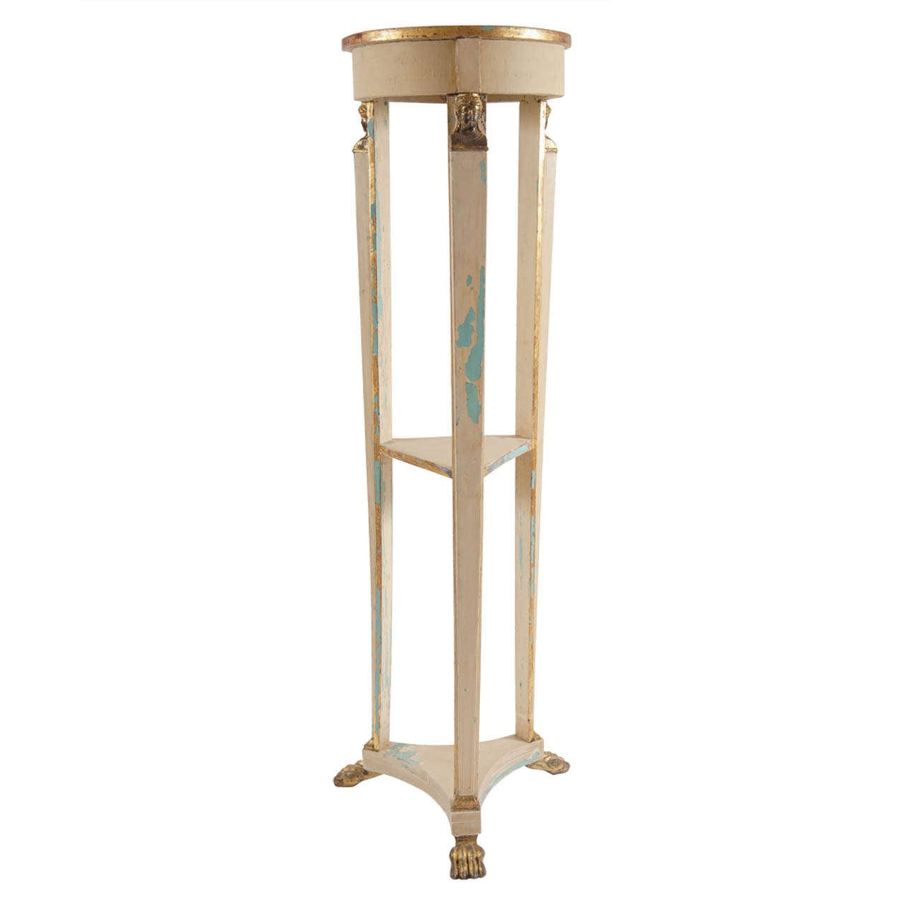 Fine Swedish Gustavian Tall Torchere/Pedestal/Stand circa 1805