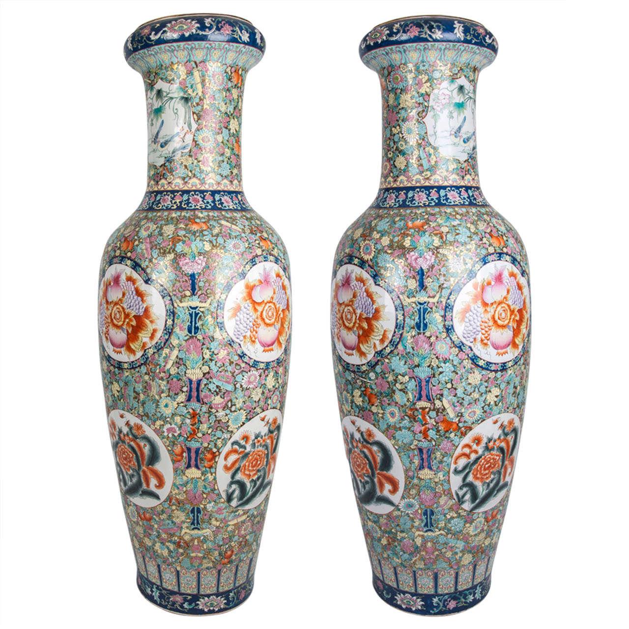 Tall Floor Vases 7 For Sale On 1stdibs