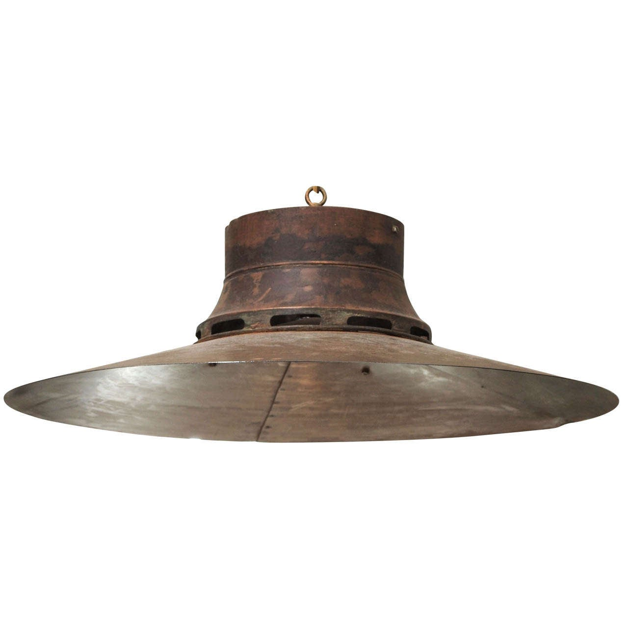 19th Century French Copper Light Shades For Sale At 1stdibs