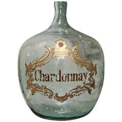 Oversized Glass Chardonnay Jug