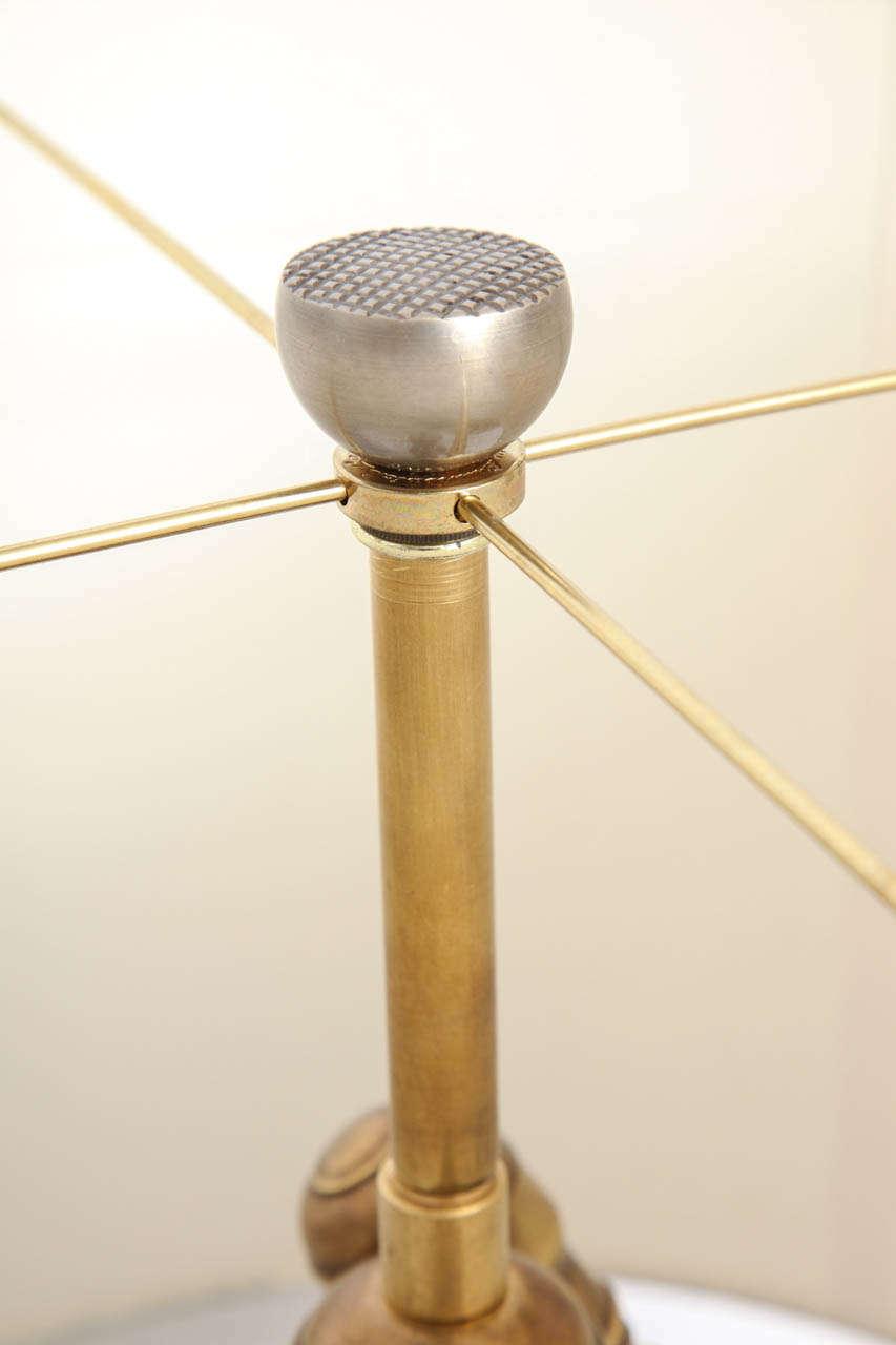 Oscar Bach 1920s Art Deco Lamp, Signed 8