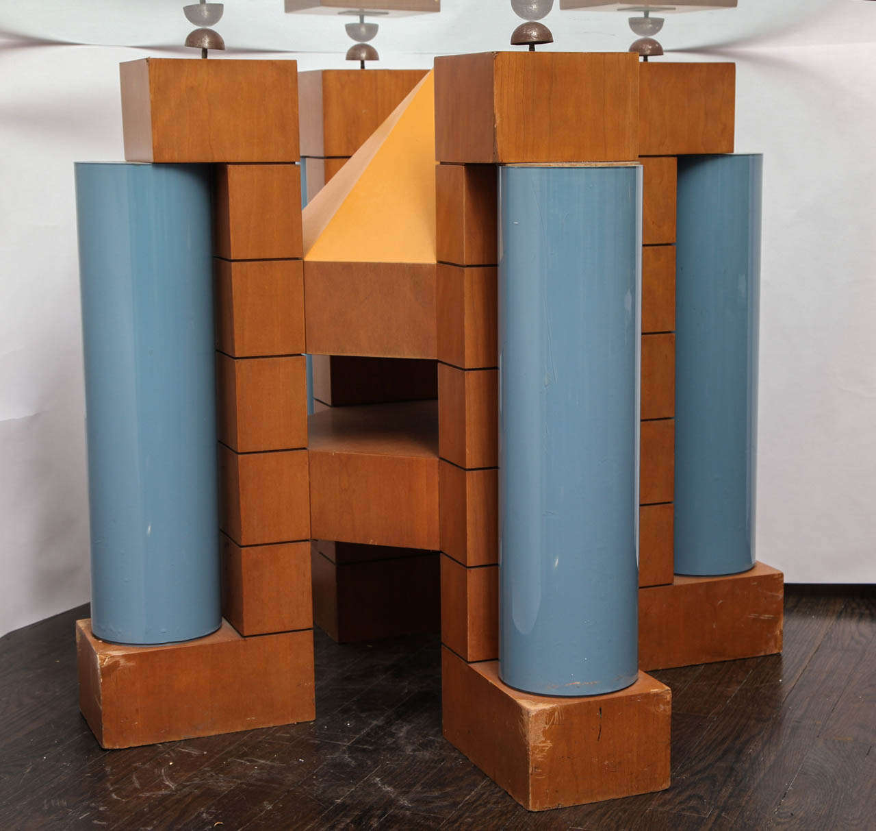 A 1980's Post Modern Dining Table by Michael Graves 4