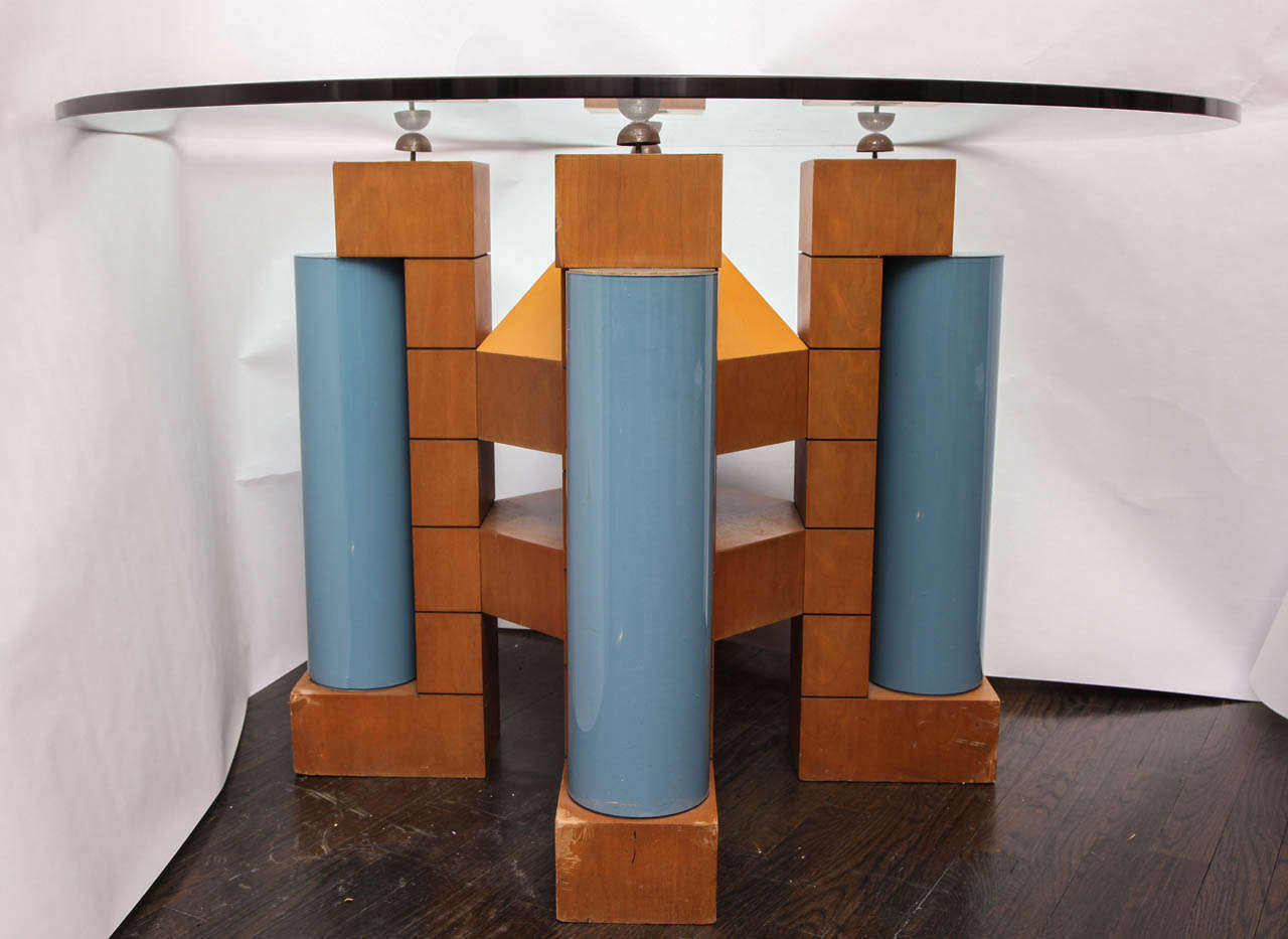 A 1980's Post Modern Dining Table by Michael Graves 6