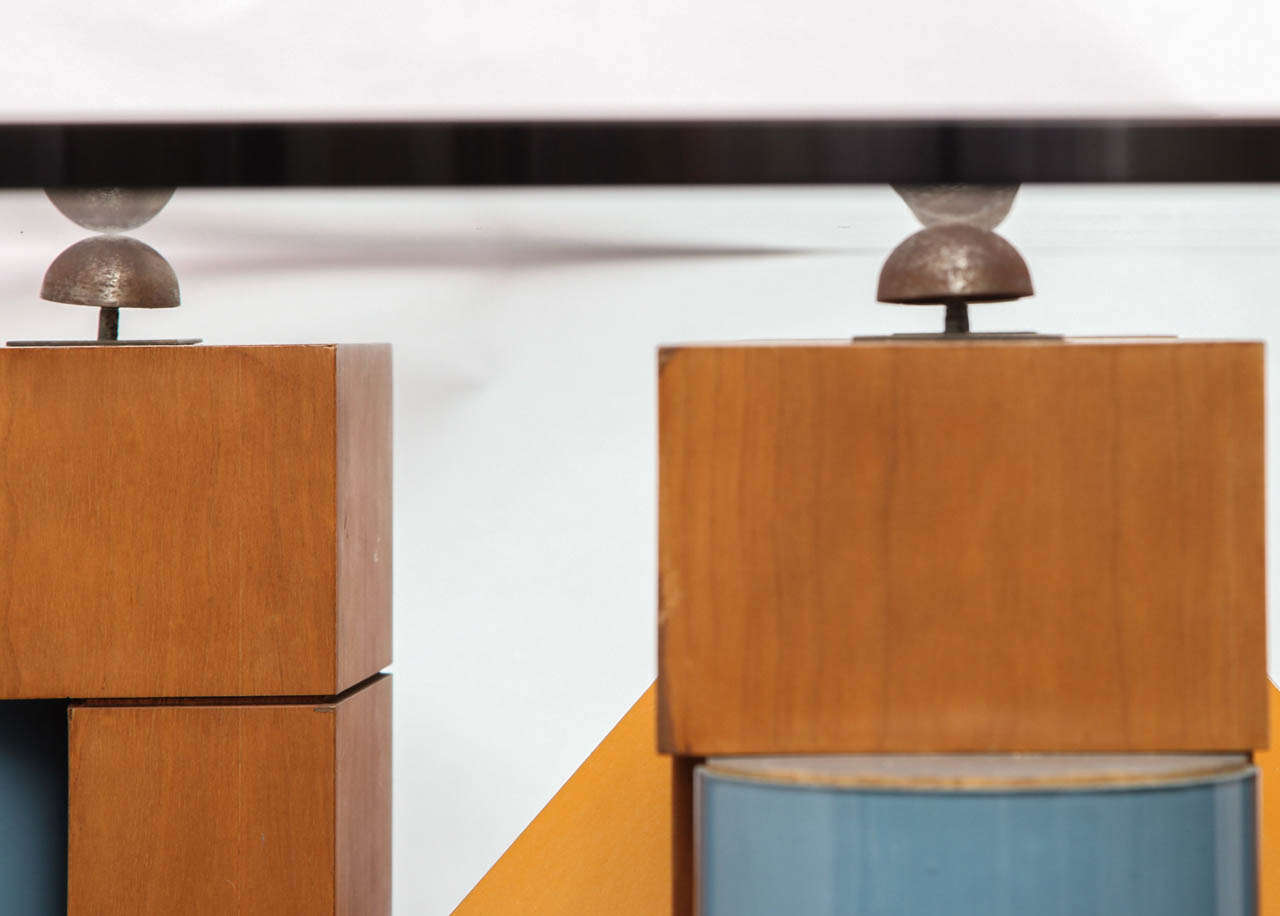 A 1980's Post Modern Dining Table By Michael Graves At 1stdibs