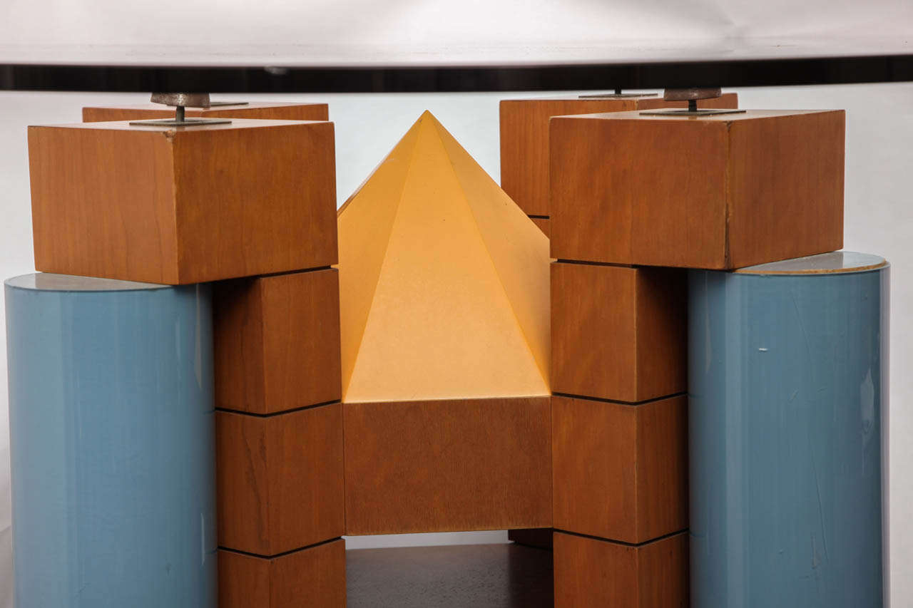 A 1980's Post Modern Dining Table by Michael Graves 8