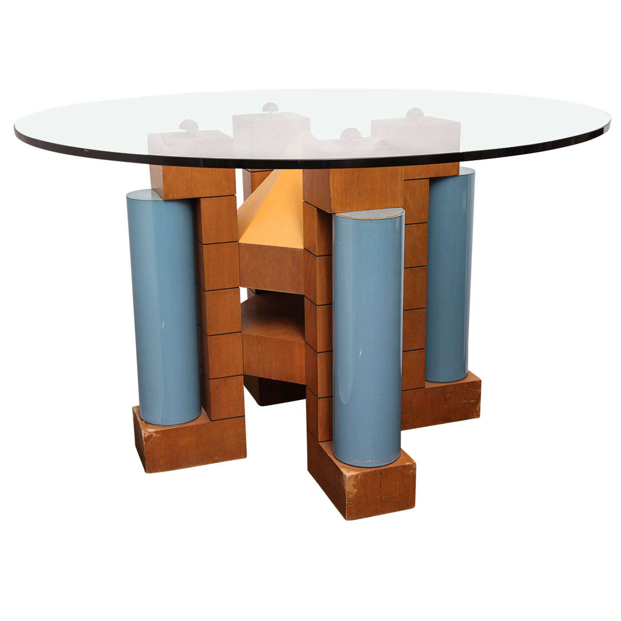 A 1980's Post Modern Dining Table by Michael Graves 1