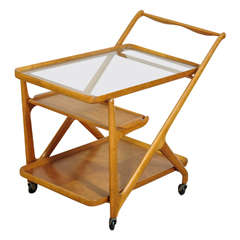 Tea Trolley by Cesare Lacca for Cassina