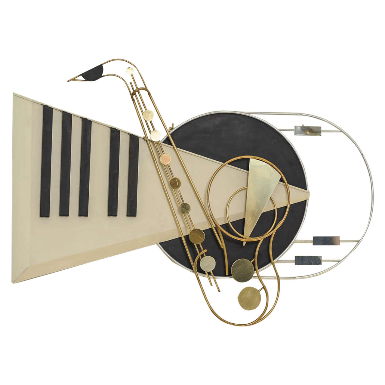 """""""the Piano"""" Wall-Mounted Piece by Curtis Jeré"""