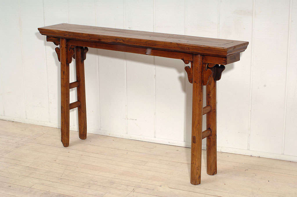 Very narrow console table image 2 for Very long narrow console table
