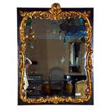 Large French Louis XVI Style Gilt Wood Mirror