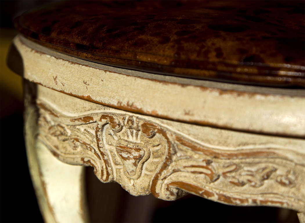 Pair of French Louis XV Style Footstools For Sale 2