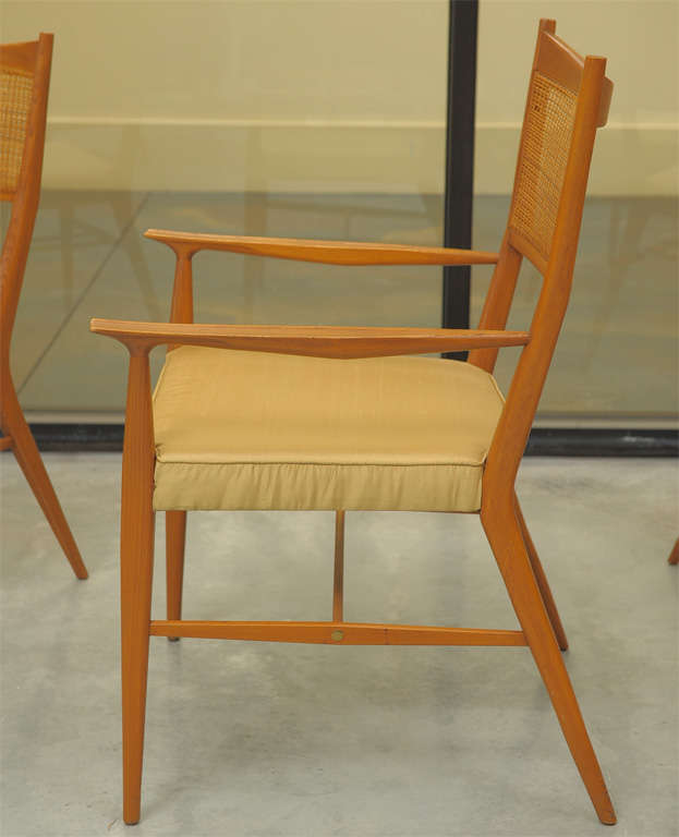 Paul McCobb Dining Chairs Set Of Six For Sale At 1stdibs