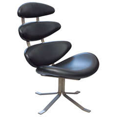Poul M. Volther - Corona lounge chair, Model EJ 5