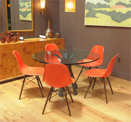 Charles Eames - Model DSW chair, six available thumbnail 2