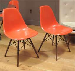 Charles Eames - Model DSW chair, six available thumbnail 3