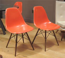 Charles Eames - Model DSW chair, six available thumbnail 4