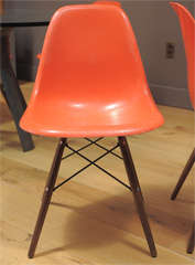 Charles Eames - Model DSW chair, six available thumbnail 5