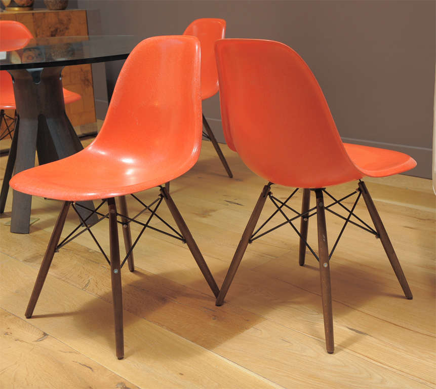 Charles Eames - Model DSW chair, six available image 7