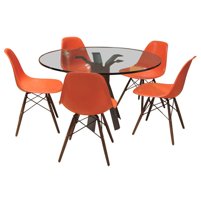 Charles Eames - Model DSW chair, six available