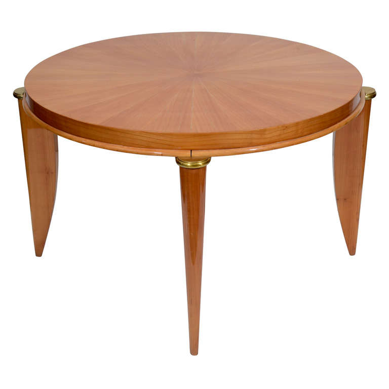 L On Jallot Sycamore Coffee Table France C 1935 For Sale At 1stdibs