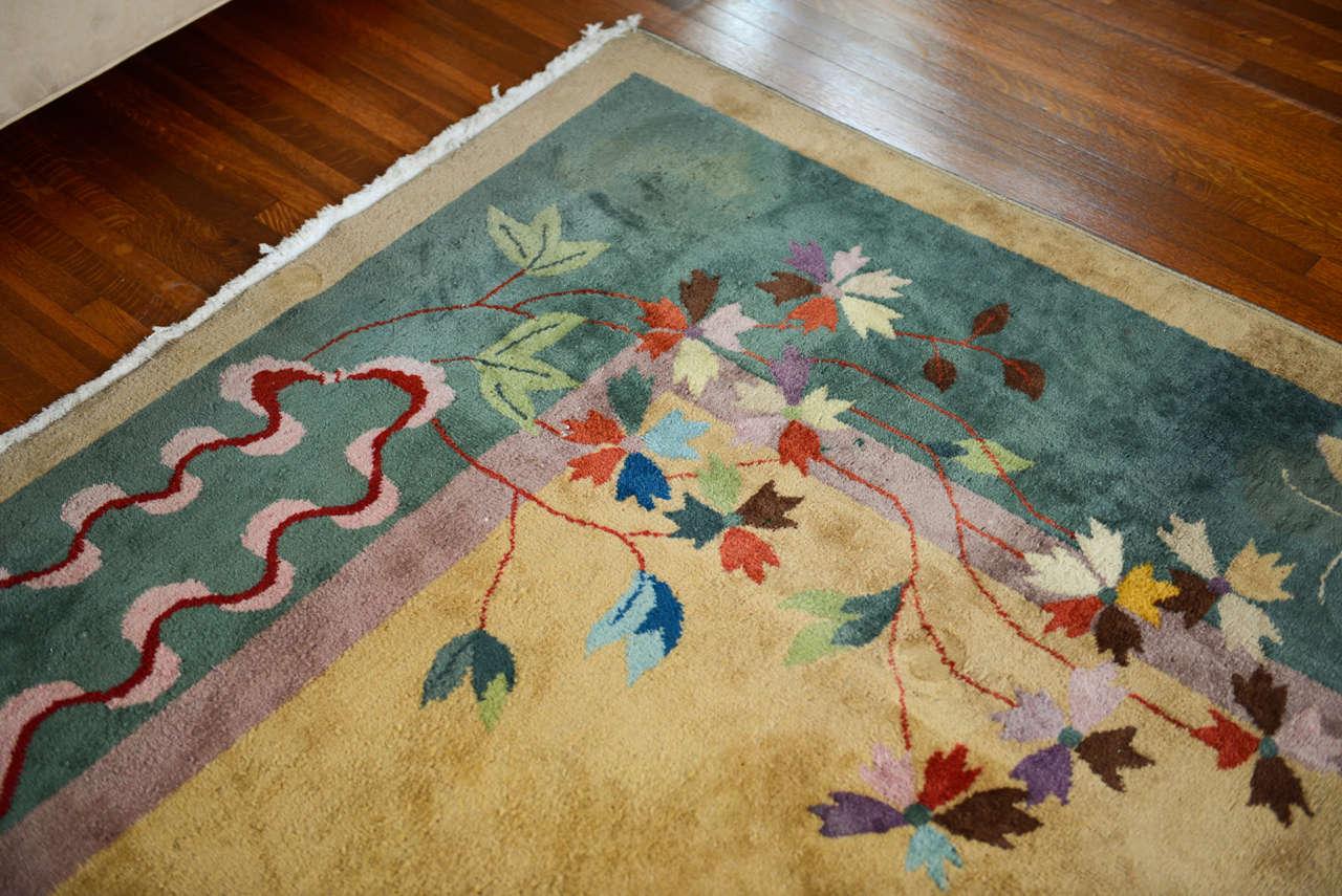 Nichols Art Deco Rug SATURDAY SALE image 6