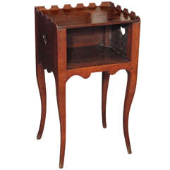 Louis XV Walnut End Table
