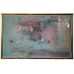 Silk Screen Print by Helen Frankenthaler