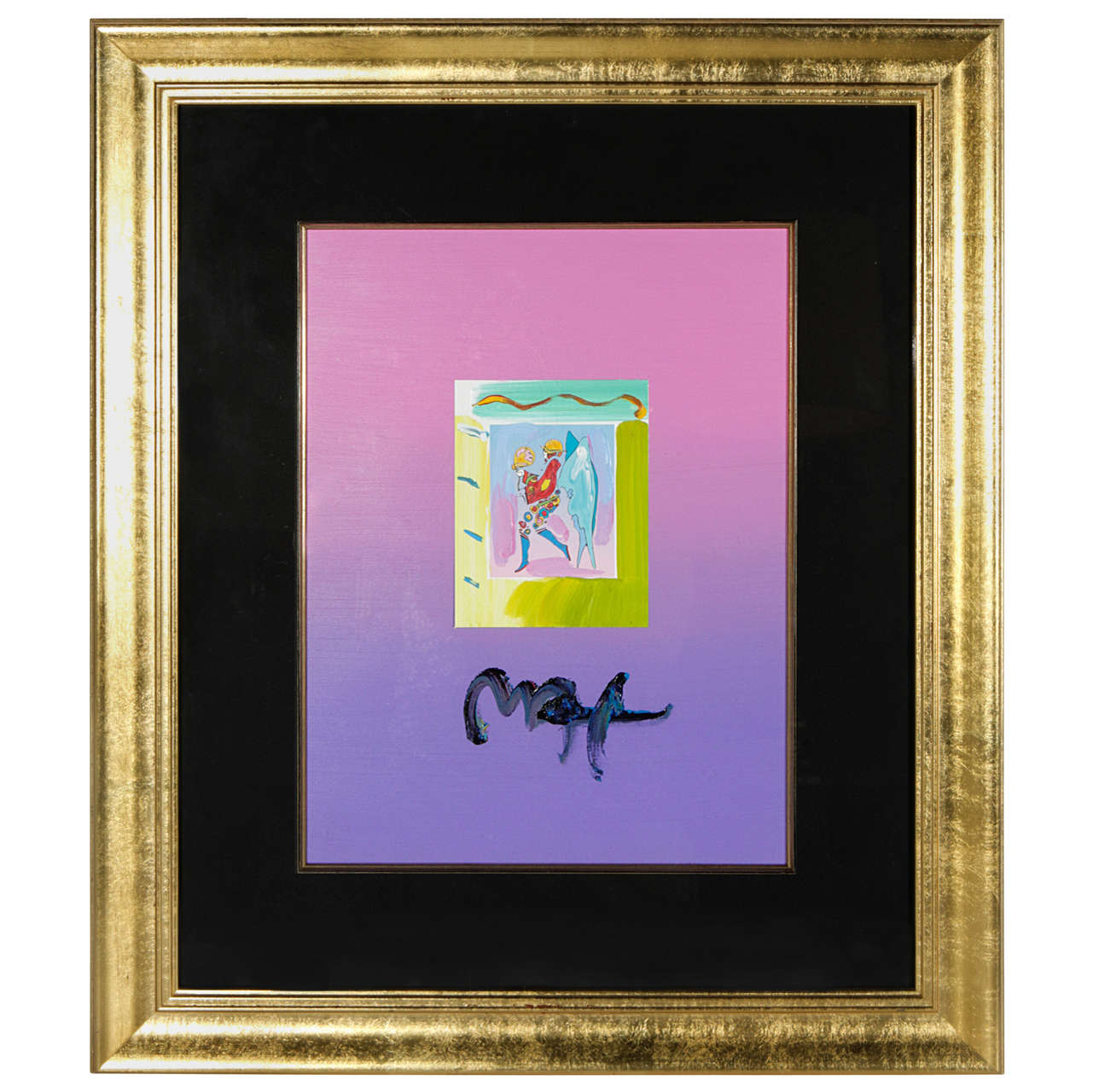 Peter Max Framed Artwork