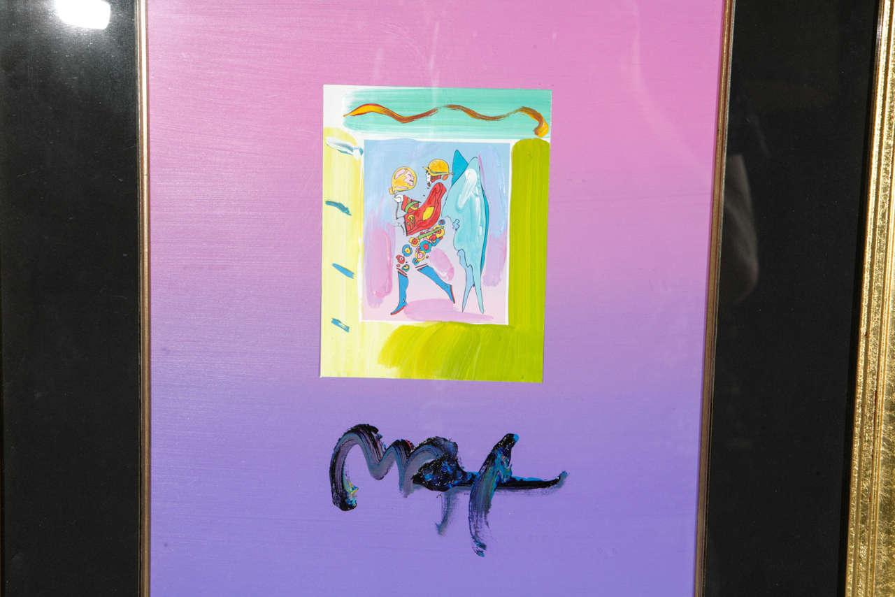 Peter Max Framed Artwork For Sale at 1stdibs