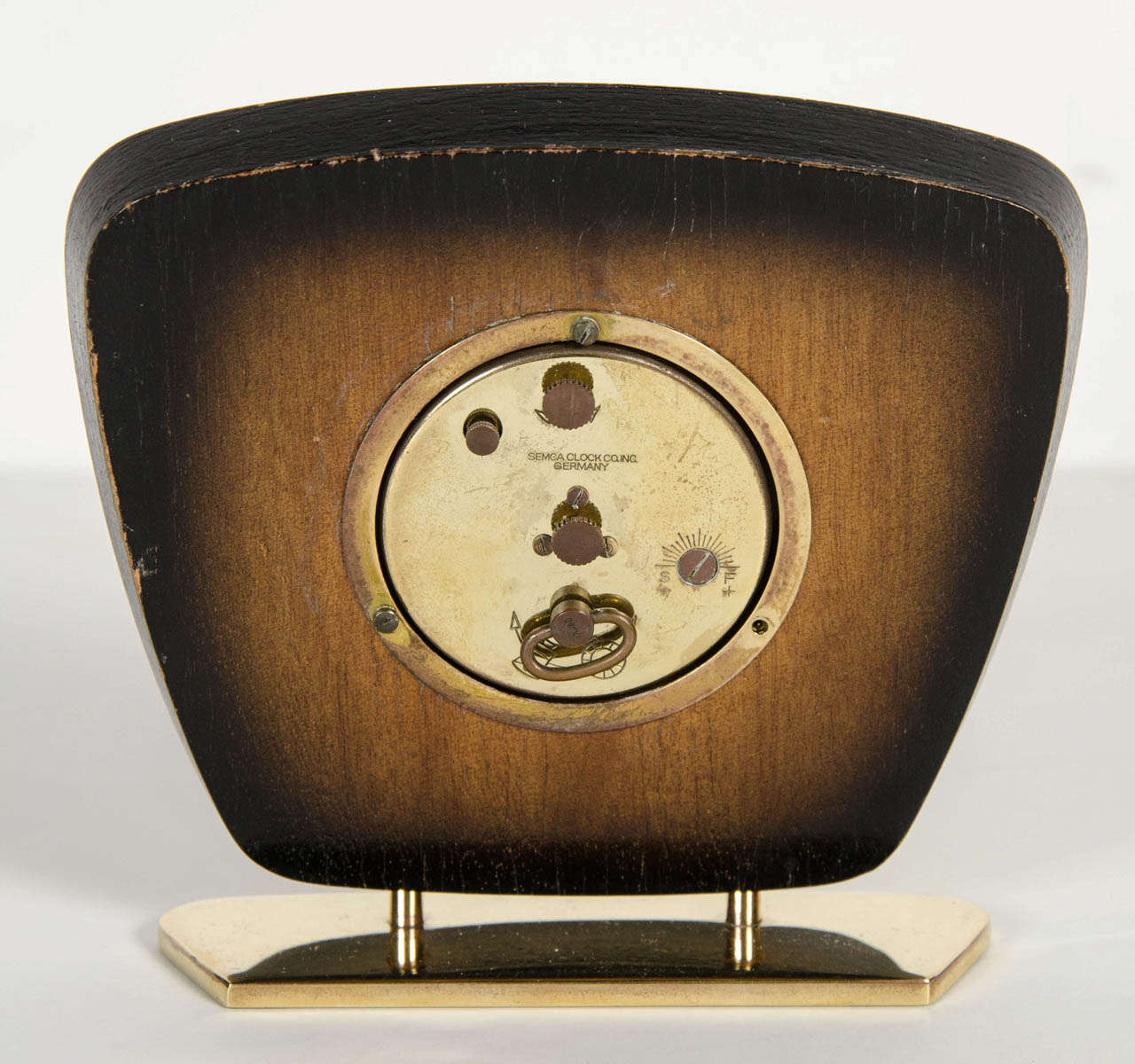 Mid-Century Modern Desk Clock For Sale 2