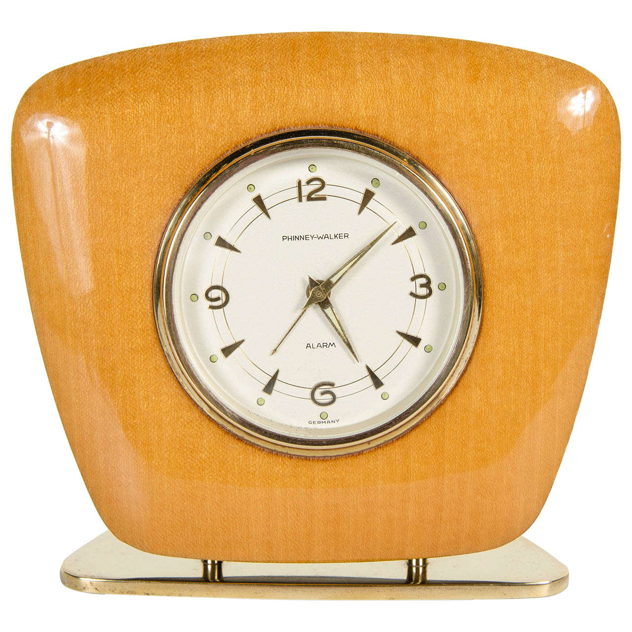 Mid-Century Modern Desk Clock For Sale